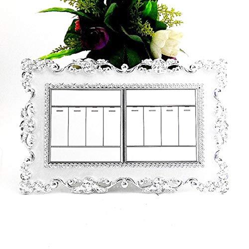 Houer LichtschalterAufkleber DoppelteEinzelbuchse FingerplattePanel Abdeckung Home Office Dekoration Wandaufkleber, 8