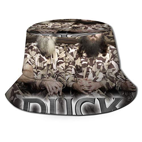 GGdjst Bucket Hats, Duck Dynasty Fisherman Beanie Schwarz New One Size Fisherman's Hat für Männer Frauen