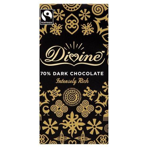 Divine Chocolate 70% Dark Chocolate 100g by Divine Chocolate