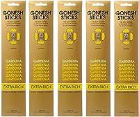 【5個セット】 GONESH(ガーネッシュ) お香 インセンス スティック エクストラリッチ ガーデニア 20本入