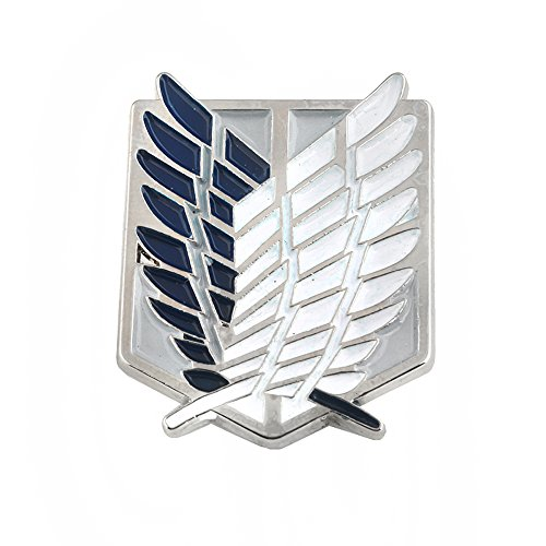 Attack on Titan Pin - Attack on Titan Wings of Liberty Pin - Attack on Titan Survey Corps Pin - Attack on Titan Wings of Freedom Pin