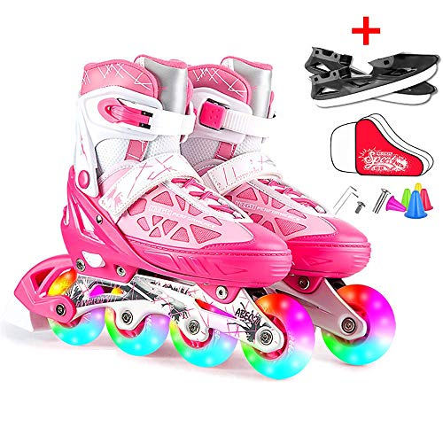 Why Choose NZBⓇ Inline Roller Skates for Kids & Adults,Convertible Into Ice Skates,Adjustable ...