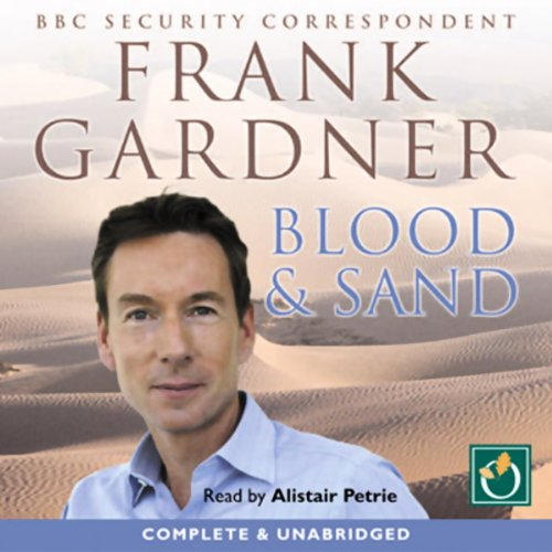 Blood & Sand audiobook cover art