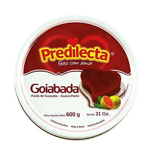 Predilecta - Dulce de Guayaba - Guava Paste - - Producto Brasilero - Ideal para Postres o Reposteria 600 Gramos