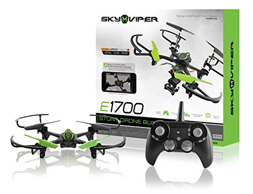 Sky Viper e1700 Stunt Drone Builder - Build Your Own Drone