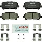 Bosch BC1281 QuietCast Premium Ceramic Disc Brake Pad Set For: Acura MDX, ZDX; Honda Odyssey, Pilot, Rear
