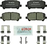 Bosch BC1281 QuietCast Premium Ceramic Disc Brake Pad Set For: Acura MDX, ZDX; Honda Odyssey, Pilot, Rear