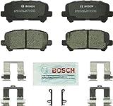 Bosch BC1281 QuietCast Premium Ceramic Disc Brake Pad Set For: Acura MDX, ZDX; Honda...