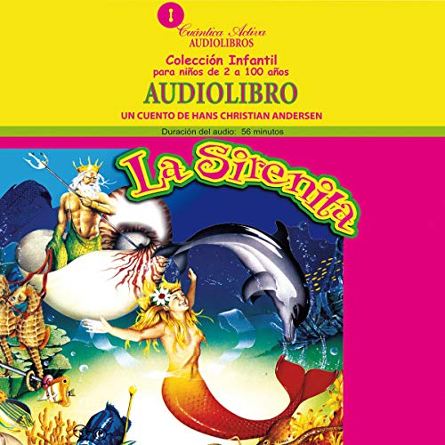 La sirenita [The Little Mermaid] copertina