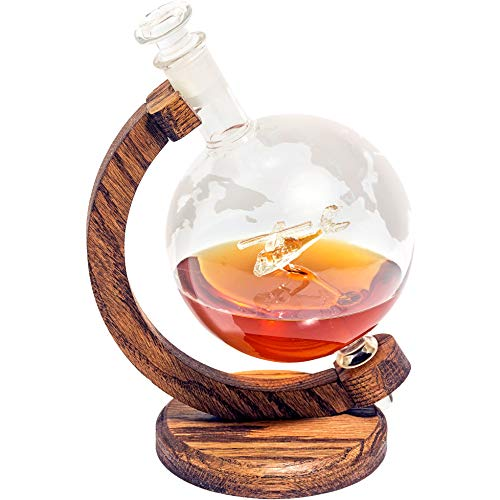 Helicopter Whiskey Decanter