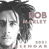 Bob Marley: 2021-2022 Calendar - 12 months - 8.5 x 8.5 glossy paper