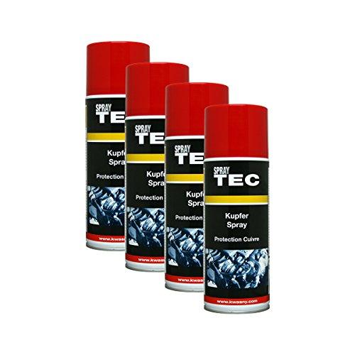 Kwasny 4X 235 040 Auto-K Spray TEC Kupfer-Spray Schutz Bremsen 400ml