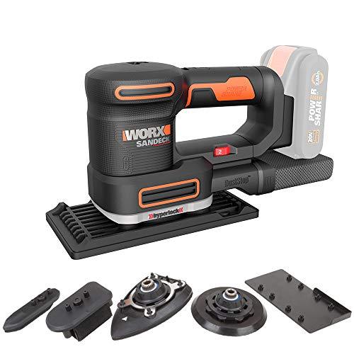 WORX WX820.9 Multifunktionsschleifer – Elektrische 20V Schleifmaschine – PowerShare kompatibel – Ohne Akku & Ladegerät