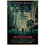 JQQBL Poster Vintage Poster Inception Classic Filmplakat