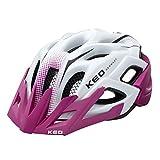 KED Status - Casque de vélo Enfant - Violet/Blanc Tour de tête M | 52-59cm 2018 Casque de VTT