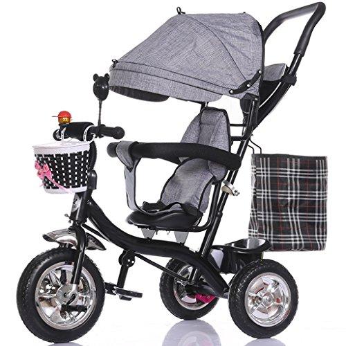 XXW kinderwagen met afneembare schuiver voor kinderen met zonwering