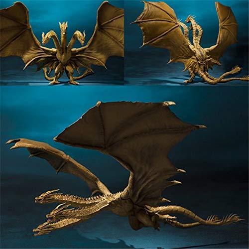 LU-Model Actionfigur Godzilla König der Monster Dreiköpfiger Drache 2 Kinderspielzeug Modell Anime Souvenirs/Sammlerstücke/Kunsthandwerk Spielzeugdekoration 30CM