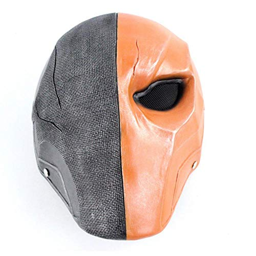IGZAKER Pfeil Deathstroke Latex Maske Shooting Season Cosplay Latex Helm Kostüm Requisiten Kostüm Für Halloween Show Prop