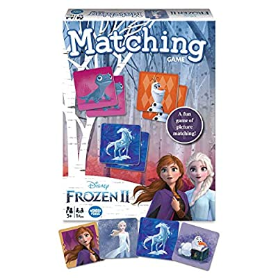 Wonder Forge Disney Frozen 2 Matching Game for Girls & Boys Age 3 to 5 - A Fun & Fast Frozen Memory Game