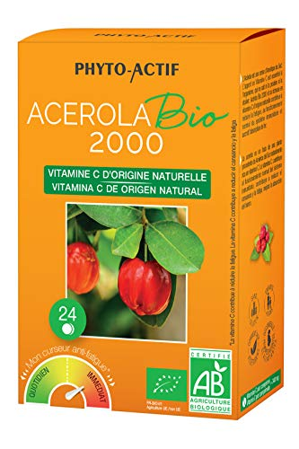 PHYTO ACTIF - Acérola Bio 2000 - 24 cps