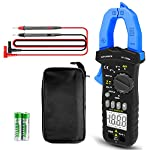Digital Clamp Meter,INFURIDER YF-7200A TRMS 400 Amp Current Clamp on Multimeter with AC Current Ammeter AC DC Voltage Voltmeter Resistance Ohmmeter and Diode Tester(Manual & Auto Range DMM)