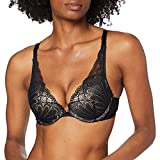 Wonderbra Women's Refined Glamour Triangle, Bra diario, Negro, 32B