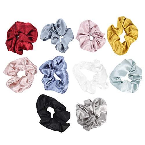 Cuerda para el cabello, bandas elásticas para el cabello, anillo grueso y suave para el cabello, para mujeres y niñas