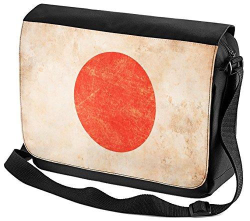 LEotiE SINCE 2004 Umhänge Schulter Tasche Weltenbummler Japan bedruckt