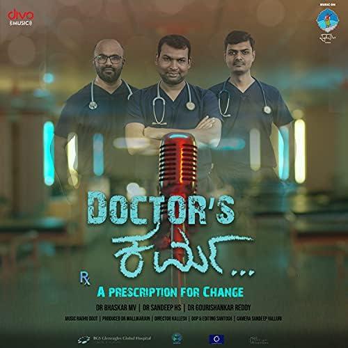 Raghu Dixit, Dr. Sandeep HS, Dr.Gourishankar & Dr. Bhaskar MV
