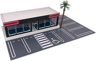 Outland Models モデル自動車の風景 カーディーラー/カーディスプレイショールーム 1/64 Sゲージ