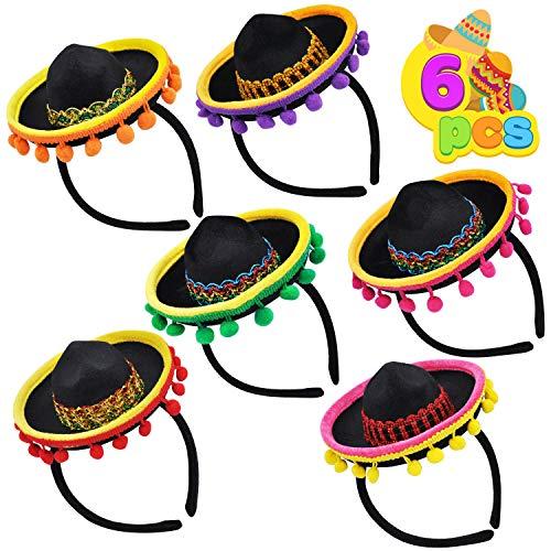 6 PCS Cinco De Mayo Fiesta Fabric S…
