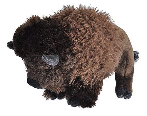 Wild Republic 10922 Republic Plüsch Bison, Cuddlekins Kuscheltier, Plüschtier, 30cm