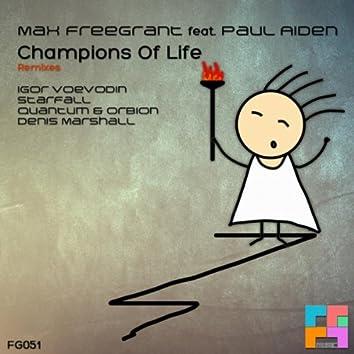 Champions Of Life (Remixes)