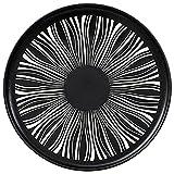 ELLENS Piatto Piano in Ceramica Moderna nordica sottosmalto, stoviglie Rotonde da 8,2 Pollici / 10,3 Pollici, Piatti da Pranzo Occidentali