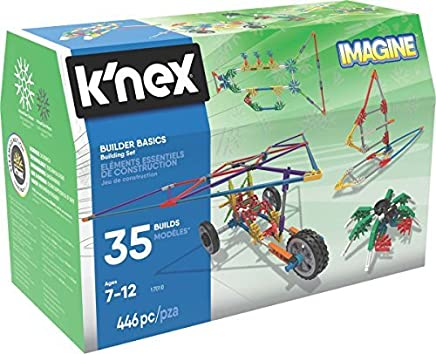 K'NEX 34365 Basic Fun 446 Piece Builder Basic Building Set