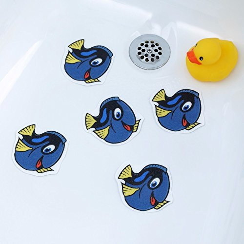 Tang Fish Tub Tattoos (5 Pack) - Cute Animal Appliques
