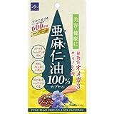 ウエルネスライフサイエンス 亜麻仁油100%カプセル(60カプセル)