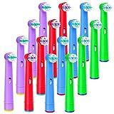 iTrunk ブラウン 電動歯ブラシ 替えブラシ 子供 キッズ やわらかめ EB10 子供用 16本