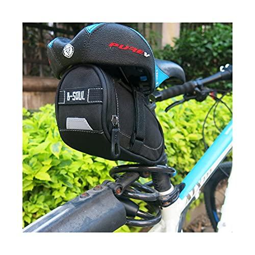 Alforja Para Bicicletas Bicicletas Bicicletas Impermeable Bicicleta Sillín Bolsas Asiento Ciclismo Cola Trasero Bolsa Bolsa Riding Almacenamiento Silla de montar Accesorios Bolsa Alforja Para Biciclet