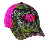Outdoor Cap Women's Patch Cap, Mossy Oak Obsession/Pink
