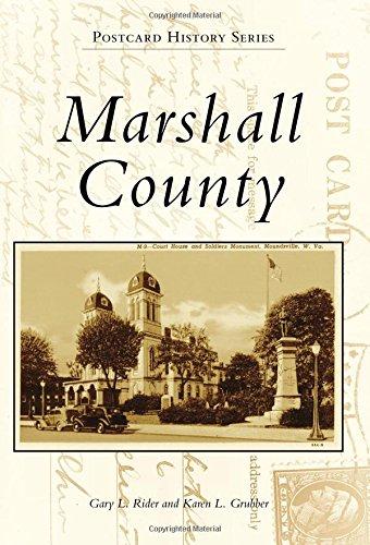 Marshall County (Postcard History Series)