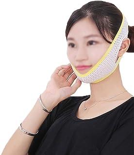 GLJJQMY 顔と首リフト薄いフェイスマスク強力な薄いフェイスツール締め付け薄いフェイスマスクアーティファクト薄いフェイス包帯薄い顔デバイス 顔用整形マスク (Size : M)