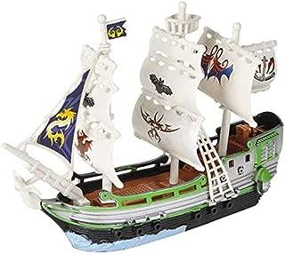 Srenta 4PC Pirate Boat Ship Set, Perfect for Pirate Theme Decoration, Birthday Gift, Grand Prize, Carnival Game