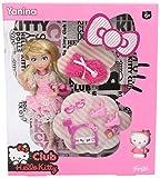 Hello Kitty - Muñeca Yaina con Trousseau Sweet (Famosa 700011671)