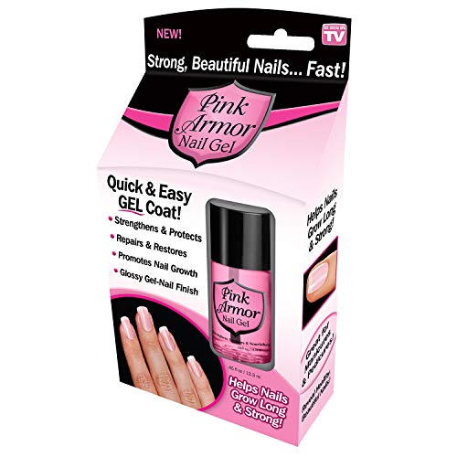 Pink Armor Nail Growth Formula Treatments, 0.45 Fluid Ounce