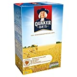 QUAKER ROLLED OATS 500g 100% wholegrain - natural source of fibre - no added sugar - helps lower cholesterol