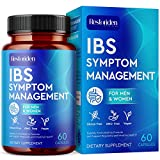 Restoriden IBS Symptom Management Supplement - Natural Stomach Cleansing Herbal Blend - Vitamins Support Help with Cramps, Abdominal Pain, Bloating, Gas, Diarrhea, Constipation Relief - 60 Capsules