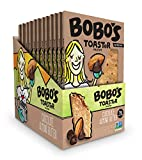Bobo's TOASTeR Pastries, Chocolate Almond Butter, 2.5 oz Pastry (12 Pack), Gluten Free Whole Grain Breakfast Toaster Pastries