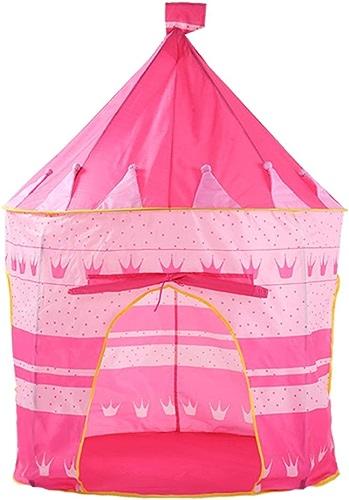 Olprkgdg Pourpre Creative Couronne Enfants Tentes Indoor Enfants Jouent Tente en Plein Air Playhouse Camping Playground (Couleur   rose)