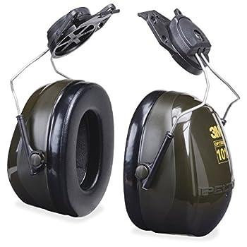 3M Peltor Optime 101 Helmet Attachable Earmuff Hearing Protection Ear Protectors NRR 24 dB